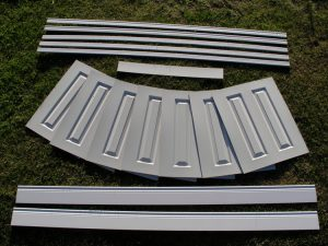 Hare Wall Panelling 4.6m kit